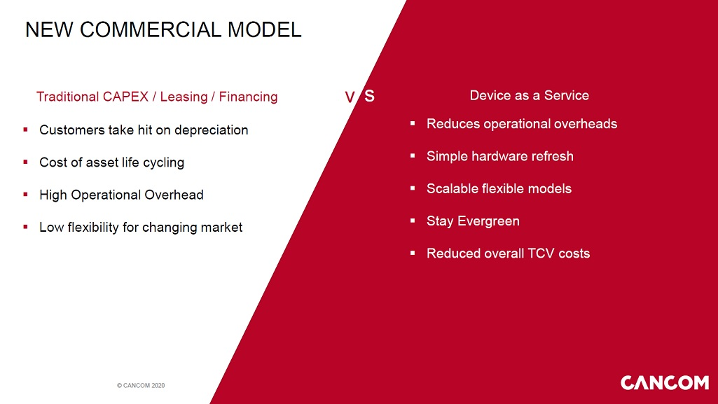 new commercial models-device-as-a-service