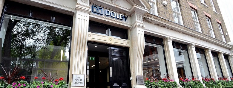 Dolby screening room exterior