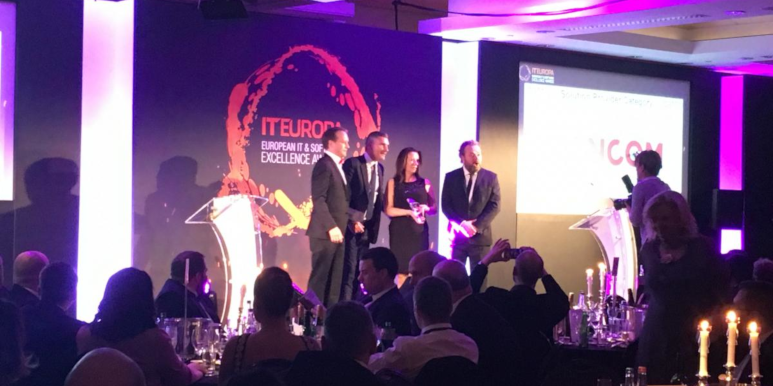 A Big Win at the European IT and Software Excellence Awards!